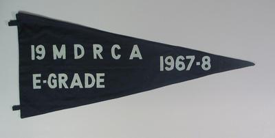 Pennant 19 MDRCA   E Grade  1967-8
