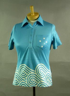 Polo shirt, 2004 Australian Olympic Games team uniform