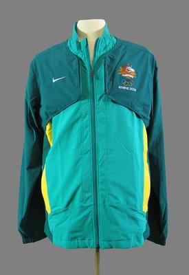 Medal ceremony jacket, 2004 Australian Olympic Games team uniform