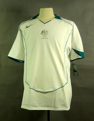 Football shirt, 2004 Australian Olympic Games team uniform