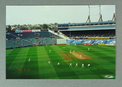 Photograph of New Zealand v Australia Test match, Eden Park - 2000