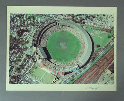Aerial photograph of Melbourne Cricket Ground, 1969 VFL Grand Final