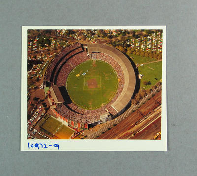 Aerial photograph of Melbourne Cricket Ground, 1978 VFL Grand Final; Photography; M9691