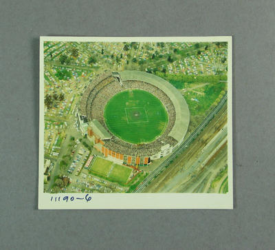 Aerial photograph of Melbourne Cricket Ground, 1980 VFL Grand Final; Photography; M9698