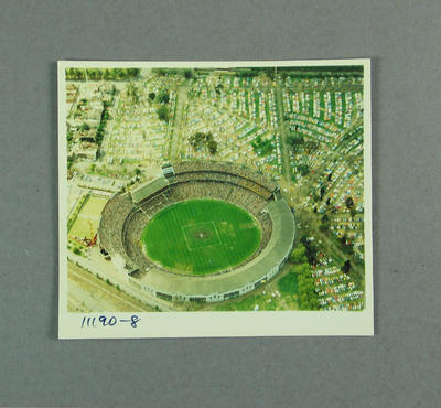Aerial photograph of Melbourne Cricket Ground, 1980 VFL Grand Final; Photography; M9699