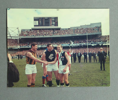 Photograph of Ross Smith, 1967 Brownlow Medal winner; Photography; M9683
