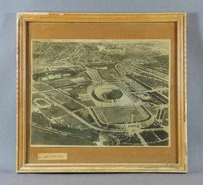 Aerial photograph of Olympic Stadium, Berlin c1936
