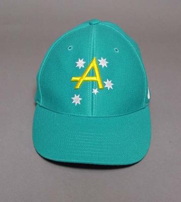 Softball cap, 2004 Australian Olympic Games team uniform