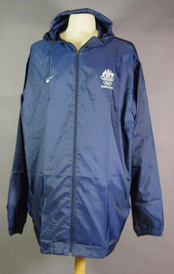 Raincoat, 2004 Australian Olympic Games team uniform