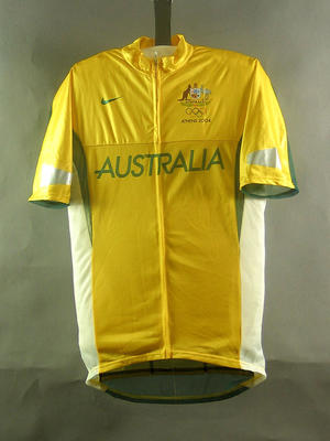 Cycling shirt, 2004 Australian Olympic Games team uniform