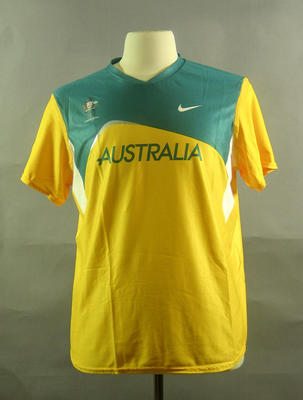 Throwers top, 2004 Australian Olympic Games team uniform