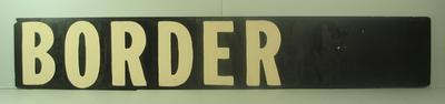 "MCG scoreboard name, ""Border"""