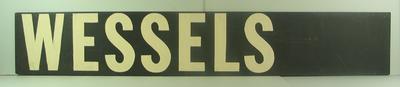 """MCG scoreboard name, """"Wessels"""""""