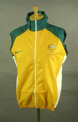 Wind vest, 2004 Australian Olympic Games team uniform