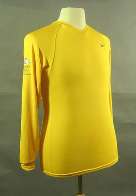 Long-sleeved t-shirt, 2004 Australian Olympic Games team uniform