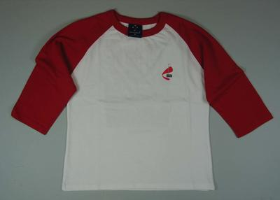 Children's t-shirt issued for a trade union rally at the MCG. Fill the 'G'/ i made history, 30 November 2006 on the back.