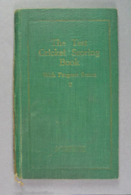 Score book, Albert Park Old Boys Cricket Club - season 1932-33