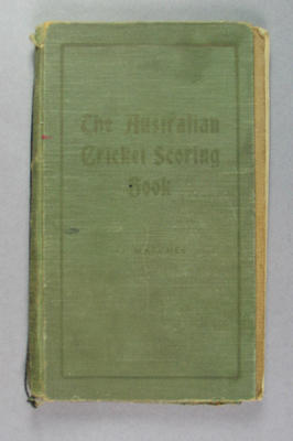 Score book, Albert Park Old Boys Cricket Club - season 1931-32