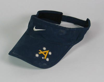 Visor worn by James Tomkins, 2004 Athens Olympic Games