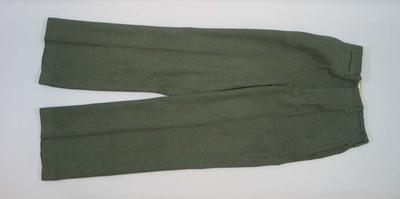 US Marine Corps uniform pants, c1943
