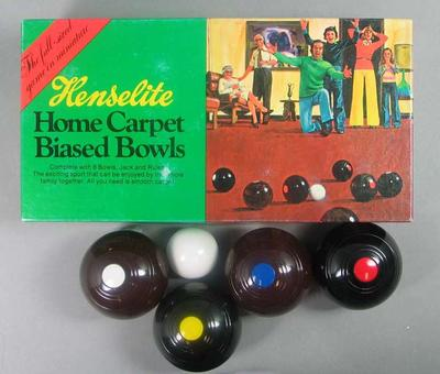 Game, Henselite Home Carpet Biased Bowls