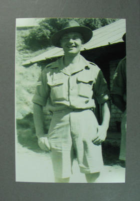 Photograph of Frank Bransgrove in India, Oct 1945