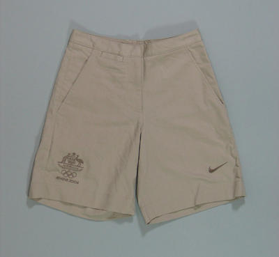 Women's shorts, 2004 Australian Olympic Games team uniform