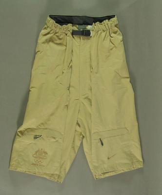 Men's shorts, 2004 Australian Olympic Games team uniform