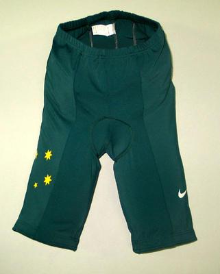 Cycling shorts, 2004 Australian Olympic Games team uniform
