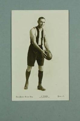 Photograph of Charles Tyson, c1920s
