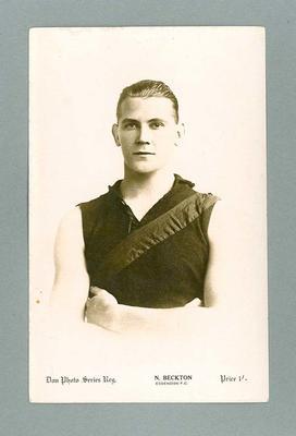 Photograph of Norman Beckton, c1920s