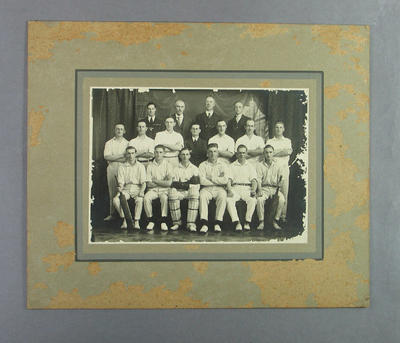 Photograph, Albert Park Old Boys' Cricket Team; Photography; M14360
