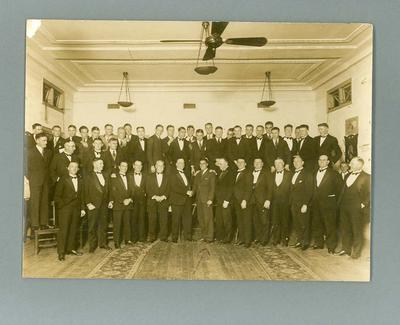 Photograph of South Melbourne FC Farewell to Austin Robertson, 1933