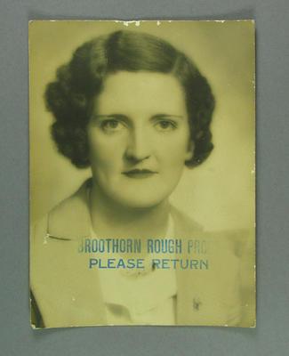 Portrait photograph of Elsie Jones; Photography; 2005.4213.5