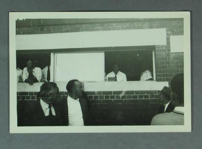 Photograph - Australia v West Indies 1960-61 - D.T. Dewdney; Photography; M10004