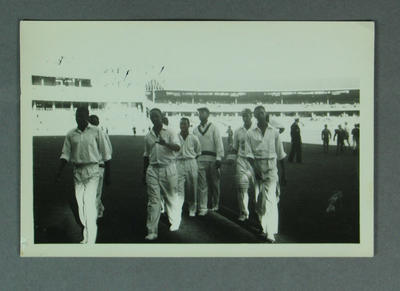 Photograph - Australia v West Indies 1960-61 -  West Indian team members