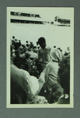 Photograph - Australia v West Indies 1960-61 - P. Lashley; Photography; M10011