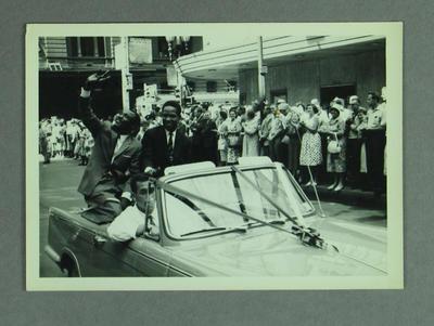 Photograph - West Indies XI Australian tour, Melbourne parade February 1961; Photography; M10012