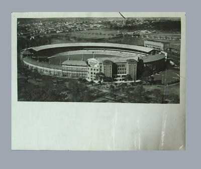 Aerial photograph of Melbourne Cricket Ground, 1947