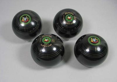 One millionth set of lawn bowls manufactured by Henselite