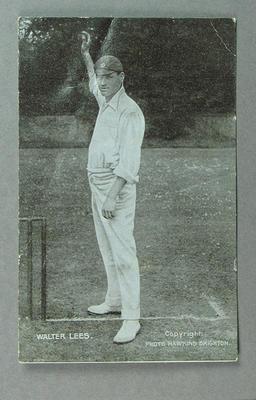 Postcard, Walter Lees