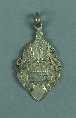 Silver medal won by Lily Beaurepaire in the S.S Teams race in 1905-6