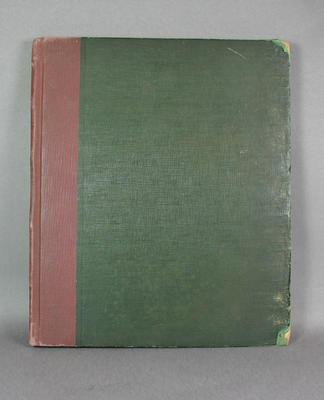 Scorebook, 1893 Australian XI tour of England & North America