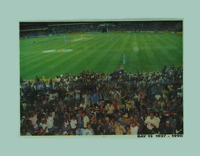 Poster, Bay 13 at the Melbourne Cricket Ground - 1985