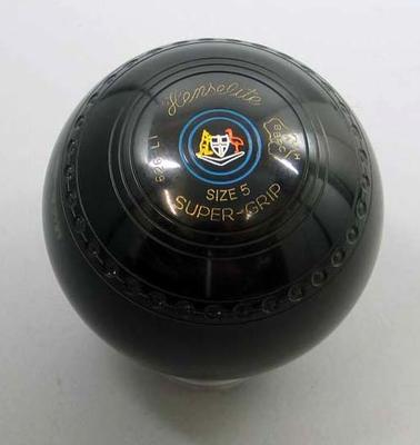 Lawn bowl, used by Sir Henry Winneke to open 4th World Bowls Championship 1980
