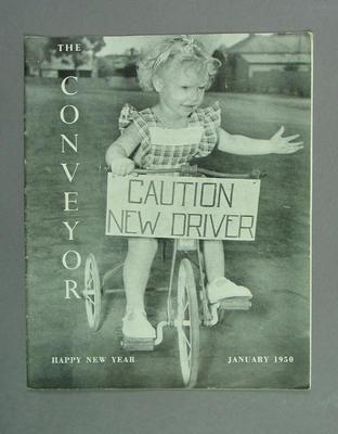 "Magazine, ""The Conveyor"" - January 1950"