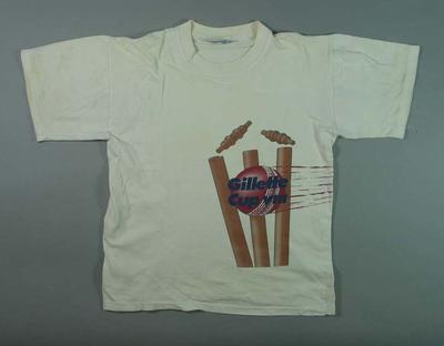 "T-shirt, ""Gillette Cup VIII"""