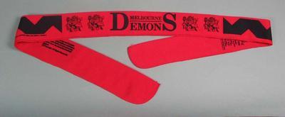 "Headband, ""Melbourne Demons"" design"
