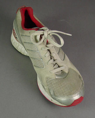 Shoe, worn by Nathan Deakes at 2004 Olympic Games