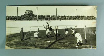 Photograph of North Melbourne FC v Port Melbourne FC football match, c1930s; Photography; 1992.2738